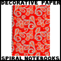 How to Personalize Spiral Notebooks