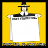Make Thanksgiving Pilgrim Placeholder Cards