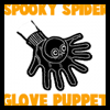 Making Spooky Spider Glove Puppets