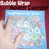 Bubble Wrap Popping Advent Calendars