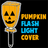 Make a Jack-o-Lantern Paper Bag Flashlight Cover