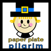 Make Paper Plate Pilgrim Men