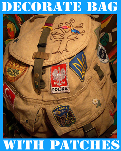 Customize Your School Book Bags with Patches