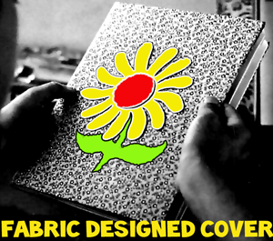 Fabric Designed Composition Notebook Cover
