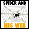 How to Make a Halloween Spider on His Web
