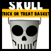 Making Skeletons Skull Treat Bags