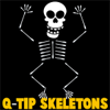 How to Make Q-Tip Skeletons