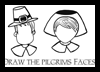 Draw Pilgrim Faces