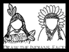 Draw Native American Indian Faces