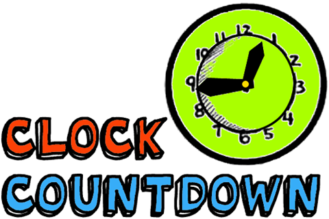 Make a New Years Eve Clock with Moving Hands to Count Down to New Years Day