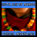 100th Day of School Fruit Loops Necklace