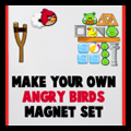 Angry Birds Magnet Set