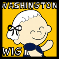 George Washington Wig Craft
