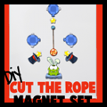 DIY Cut the Rope Magnets