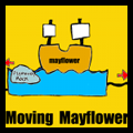 Making Moving Mayflower Ship