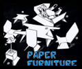 Paper Furniture for Doll Houses