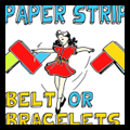 Paper Strips Belt