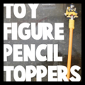Toy Figures Pencil Toppers