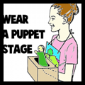 Wearable Puppet Stage