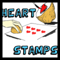 Make Heart Stamps