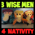 3 Wise Men for the Nativity
