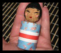 Make Kokeshi Dolls
