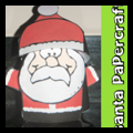 Foldable Santa Claus Crafe
