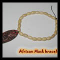 Wooden Beaded African Charm Bracelets