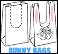 Bunny Rabbit Treat Bags