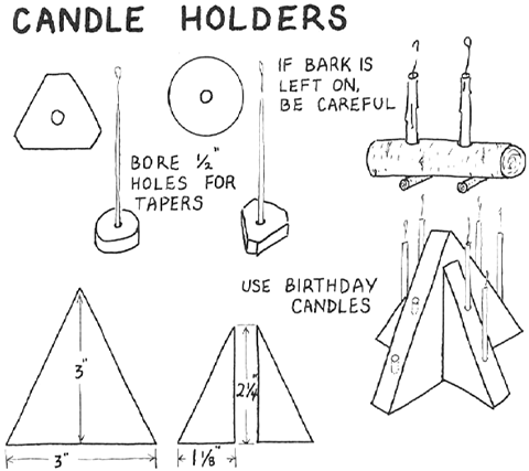 How to Make Candle Holders