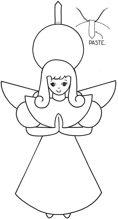 Christmas Angel Cutouts | quotes.lol-rofl.com