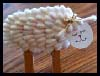 Q-Tip Spring Lamb Craft