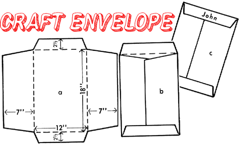 How to Make Envelopes Crafts for Kids: Ideas for Paper Crafts ...