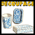 Decoupage Trays Baskets and Boxes