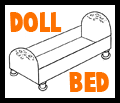 Shoebox Baby Doll Bed