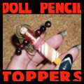 Doll Pencil Toppers
