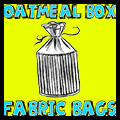 Fabric Oatmeal Container Bags
