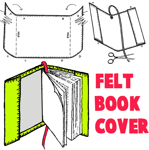 Make Book Covers for Kids : How to Personalize and Decorate Book ...