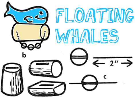 Whale Crafts For Kids Ideas To Make Whales With Easy