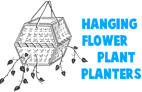 HANGING FLOWER PLANTERS