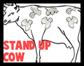 Standing Cows