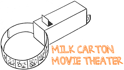 How To Make Milk Carton Movie Theaters For Kids Cardboard Box Crafts For Children And Teens