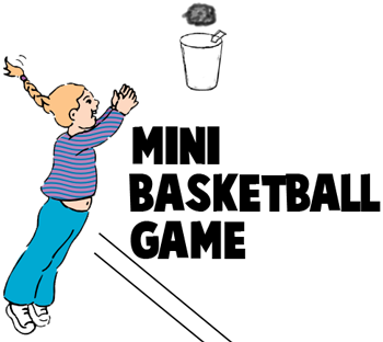 PAPER CUP BASKETBALL GAME