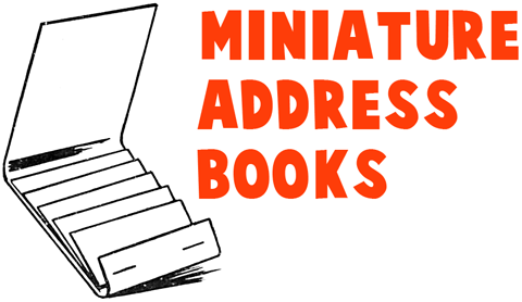 How to Make Mini Address Books