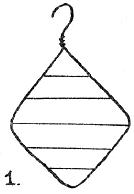 Bend A Wire Coat Hanger Into Diamond Shape