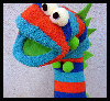 Easy Monster Sock Puppet