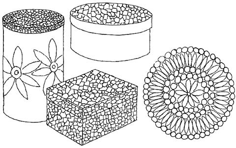 Mosaic Bo Tiles Art