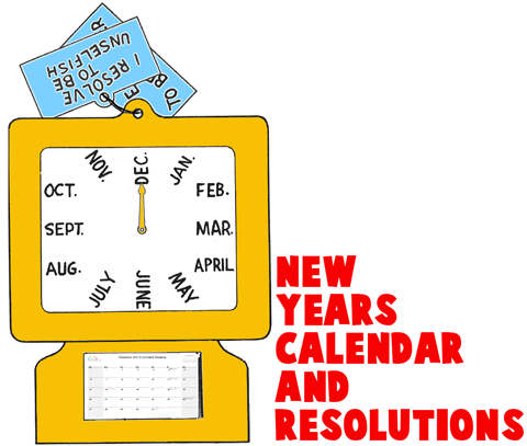 New Years Clock Resolutions