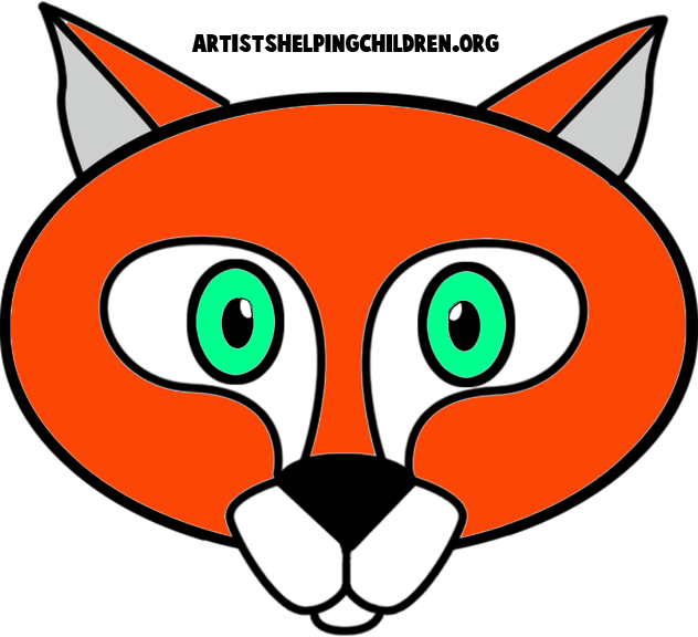 It is a graphic of Unusual Fox Mask Printable