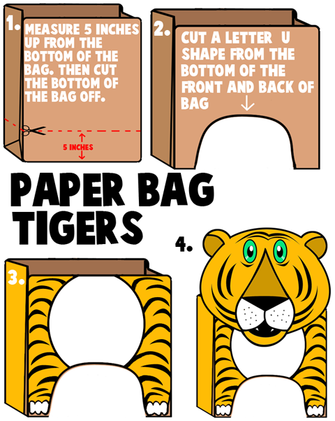 Tiger Crafts For Kids Ideas To Make Tigers With Easy Arts